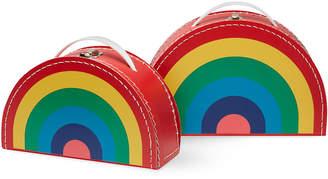 MoMA STORE (モマ ストア) - MoMA STORE カードボード スーツケース レインボー(2個セット)