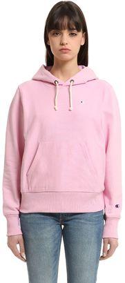 Hooded Cotton Sweatshirt $120 thestylecure.com