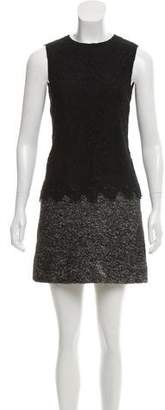 Dolce & Gabbana Lace-Accented Sheath Dress