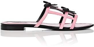 Fabrizio Viti Women's City Bow Suede Slide Sandals