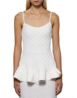 By Johnny Polka Flounce Cami