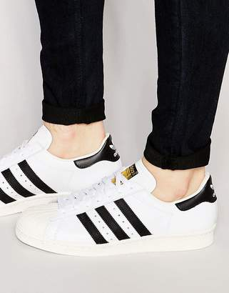 adidas Superstar 80's sneakers in white g61070