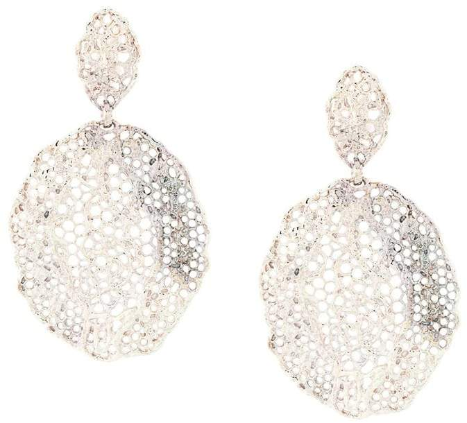 Vintage Lace clip-on earrings