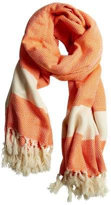 Luks Linen - Damla Scarf Tangerine