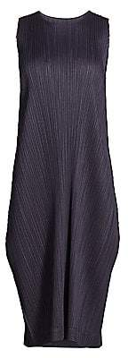 Pleats Please Issey Miyake Women's Monthly Colors August Midi Dress