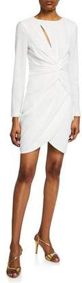 Dress the Population Colby Crepe Grecian-Knot Dress