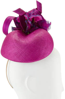 Philip Treacy Hand-Blocked Coffee Bean Beret