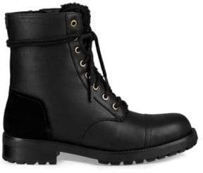 UGG Kilmer Leather& Suede Combat Boots