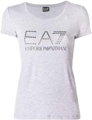 Emporio Armani Ea7 stamped T-shirt