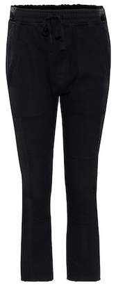 Haider Ackermann Cropped cotton trousers