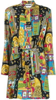 Moschino Fantasy print short dress