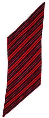 Chanel Striped Silk Scarf w/ Tags