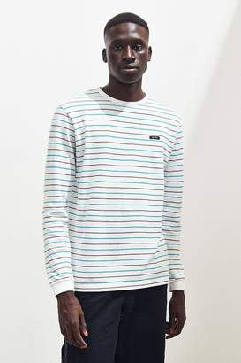 Le Fix Thin Stripe Pique Long Sleeve Tee