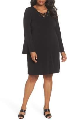 MICHAEL Michael Kors Lace-Up Dress