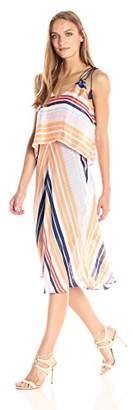 Rachel Roy Women's Striped Midi Popover
