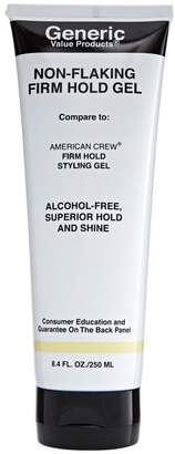 American Crew Generic Value Products Non Flaking Firm Hold Gel Compare to Firm Hold Styling Gel