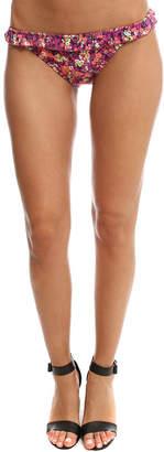 Shoshanna Ruffle Brief Bikini Bottom