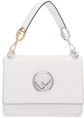 0bc056f2bc5c Fendi White Large Forever Kan I Bag