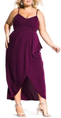 City Chic Romance Maxi Dress
