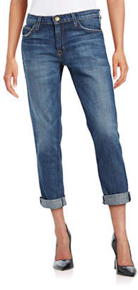 Current/Elliott CURRENT ELLIOTT The Fling Slim Boyfriend-Fit Jeans