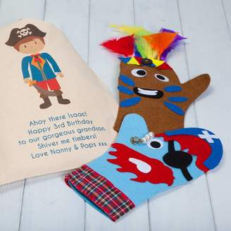 British and Bespoke Personalised Pirate And Indian Hand Puppet Craft Kit