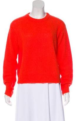 Alexander Wang Mohair-Blend Knit Sweater