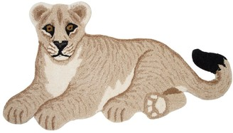 Lion Wool & Cotton Rug