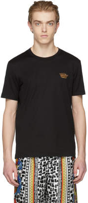 Dolce & Gabbana Black Gold Crown T-Shirt
