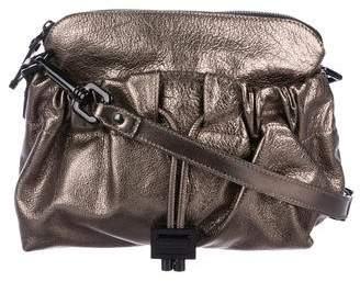 Burberry Metallic Leather Crossbody Bag