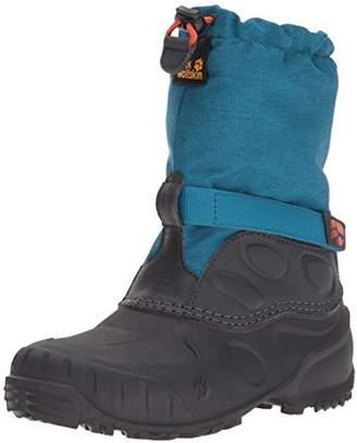 Jack Wolfskin Unisex Kids' Iceland High K Snow Boots, (Glacier Blue 1121)
