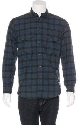 Filson Plaid Button-Up Shirt