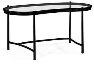 Jonathan Charles Fine Furniture Glass Writing Desk Jonathan Charles Fine Furniture