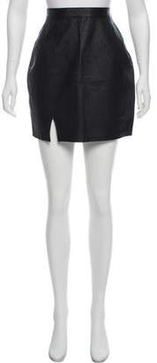 Reformation X Urban Renewal Leather Mini Skirt w/ Tags