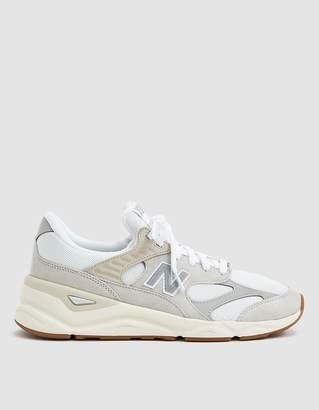 New Balance X90 Sneaker in Nimbus Cloud and Munsell White
