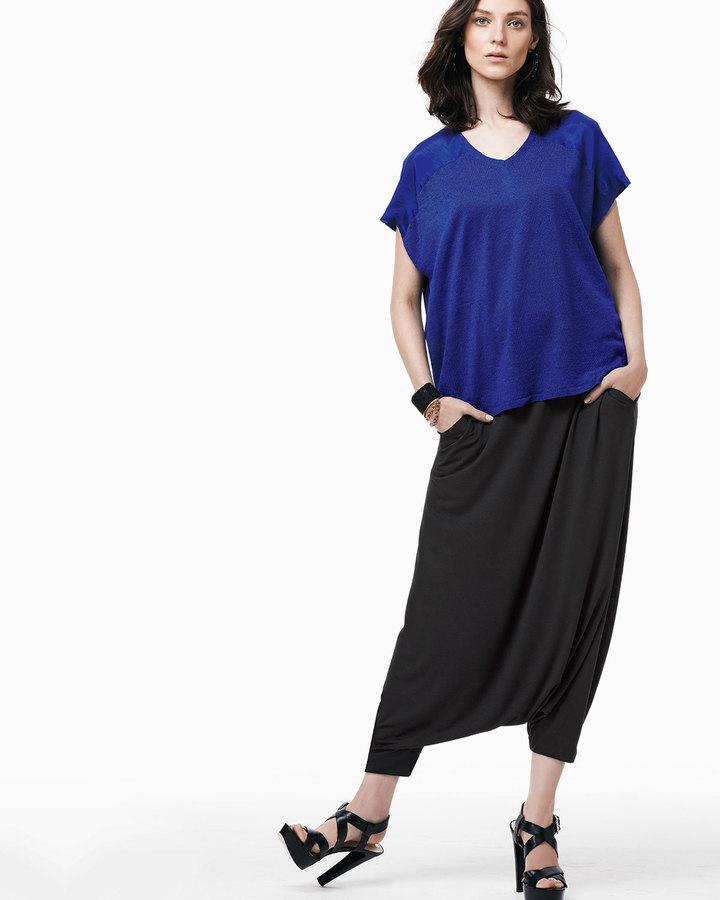 Eileen Fisher Lightweight Harem Pants, Petite
