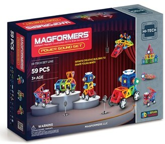 Boy's Magformers 'Power Sound' Magnetic Construction Set $189.99 thestylecure.com