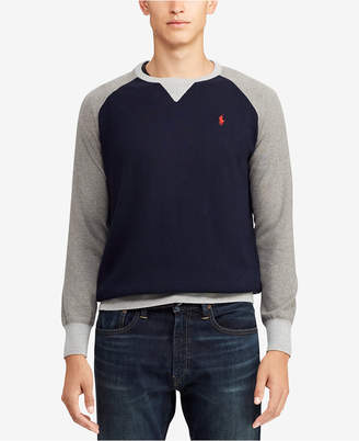 Polo Ralph Lauren Men Big & Tall Colorblocked Sweater