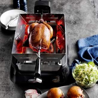Philips Smoke-Less Infrared Grill with BBQ Grids with Rotisserie