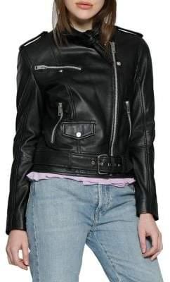 Christina Walter Baker Leather Jacket