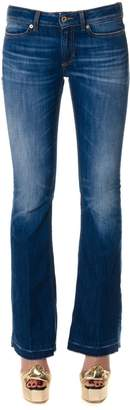 Dondup Blu Cotton Denim Jeans