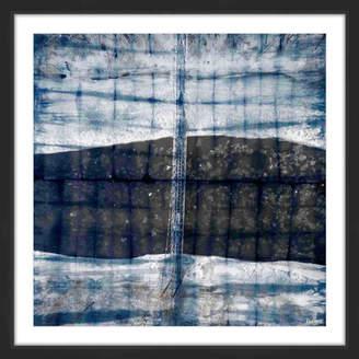 Parvez Taj Over Dark Waters Framed Print