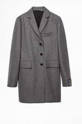 Zadig & Voltaire Mark Wool Coat