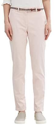 Esprit Women's 037eo1b001 Chino Trouser,(Manufacturer Size: 36)