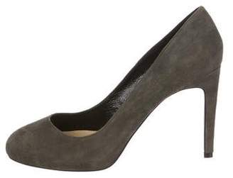 Lola Cruz Suede High-Heel Pumps