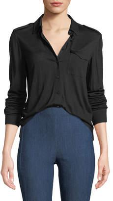 Rag & Bone Leyton Button-Front Military Shirt