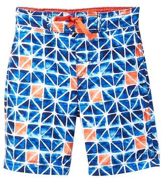 Tommy Bahama Abstract Print Board Shorts (Little Boys)
