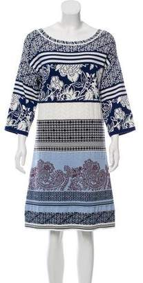 Etro Jacquard Knee-Length Dress