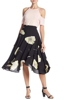 1 STATE 1.State Sharkbite Wrap Skirt