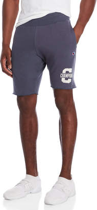 Champion Fleece Logo Jogger Shorts