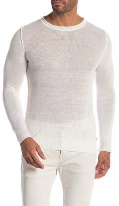DAVID NAMAN Split Hem Sweater